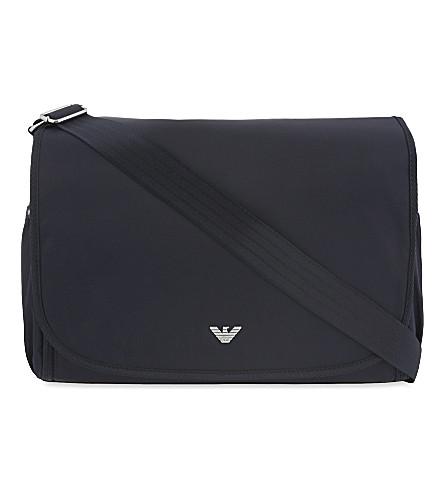 ... EMPORIO ARMANI Changing bag (Indigo. PreviousNext 34ff7715a3d2a