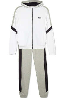 ARMANI JUNIOR Tracksuit bottoms & hooded jacket set