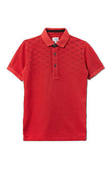 ARMANI JUNIOR Logo polo shirt