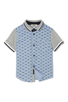 ARMANI JUNIOR Eagle polo shirt 3-24 months