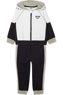 ARMANI JUNIOR Two piece tracksuit set 3-24 months