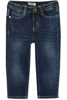 ARMANI JUNIOR Straight five-pocket jeans 3-24 months