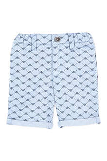 ARMANI JUNIOR Eagle print shorts 3-24 months