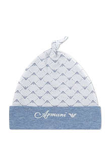 ARMANI JUNIOR Eagle print hat S/M