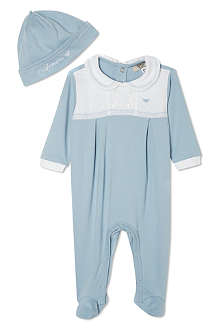 ARMANI JUNIOR Sleeper gift set 1-12 months