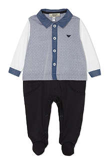 ARMANI JUNIOR Shirt sleeper 1-12 months