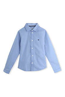 ARMANI JUNIOR Striped shirt 9-16 years