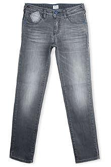ARMANI JUNIOR Mid-rise slim-fit jeans 9-16 years