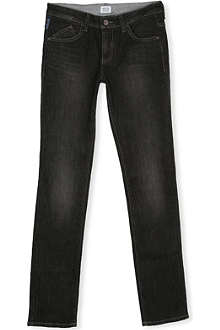 ARMANI JUNIOR Straight-leg jeans 9-16 years