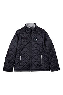 ARMANI JUNIOR Core quilted jacket 10-16 years