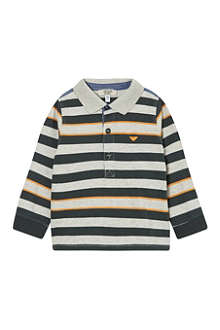 ARMANI JUNIOR Armani striped ls polo