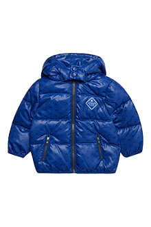ARMANI JUNIOR Eagle print down jacket 3-24 months