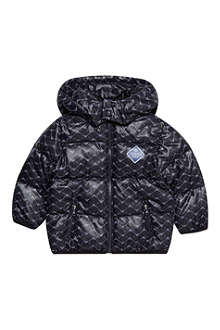 ARMANI JUNIOR Eagle print down coat 3-24 months
