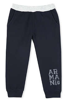ARMANI JUNIOR Logo sweatpants 3-24 months