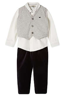 ARMANI JUNIOR Three-piece set 3-24 months