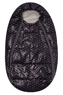 ARMANI JUNIOR Eagle print sleeping nest