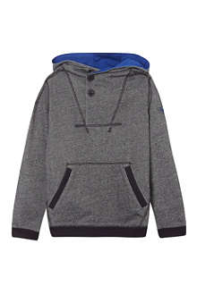 ARMANI JUNIOR Hooded button pullover 3-8 years