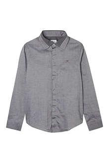 ARMANI JUNIOR Contrast collar shirt 3-8 years