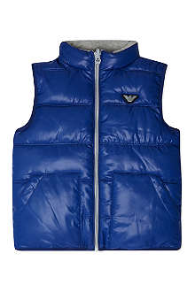 ARMANI JUNIOR Reversible padded gilet 4-16 years