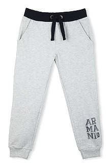 ARMANI JUNIOR Logo jogging bottoms 3-8 years