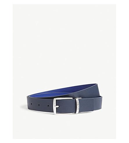 ARMANI JUNIOR Leather belt (Blue