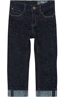 MOLO Amadeus speckled straight leg jeans 3-14 years