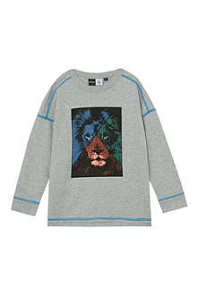 MOLO Rey lion print top 2-14 years