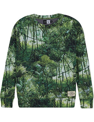 MOLO Jungle print sweater 3-14 years