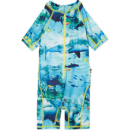 MOLO Swim beach suit 9 months- 8 years (Sharks