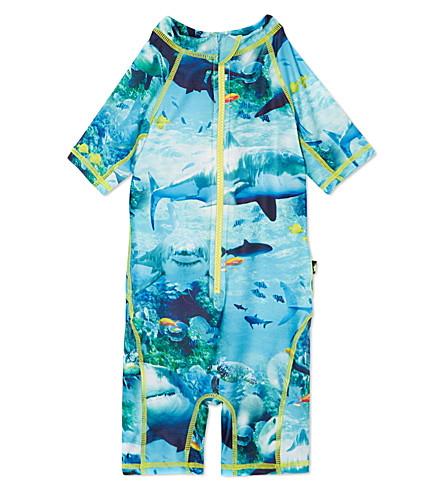 MOLO Swim beach suit 9 months- 8 years (Sharks