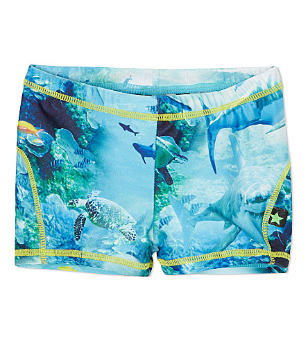 MOLO Shark swim trunks 1-10 years (Sharks