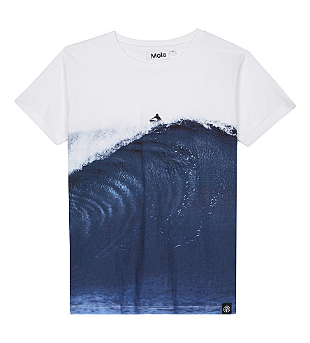 MOLO Rusky surfer cotton t-shirt 4-14 years (Big+wave
