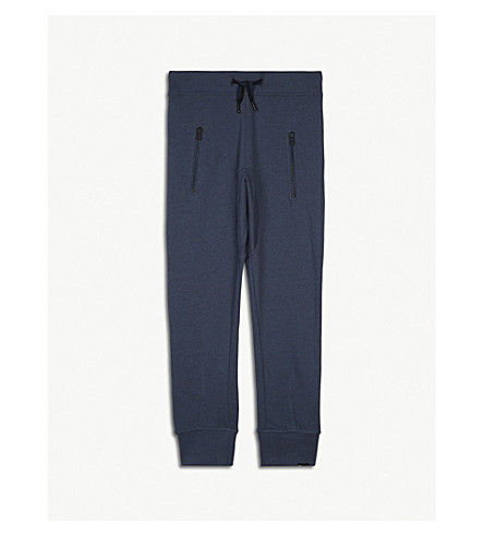 MOLO Ashton cotton jogging bottoms 4-14 years (Blue