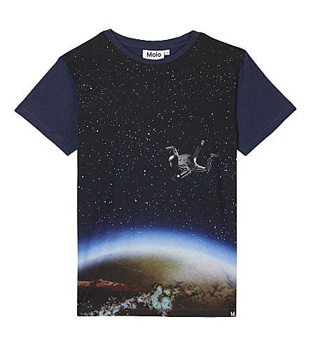 MOLO Ragnij 太空人棉 t恤衫4-12 年 (蓝色