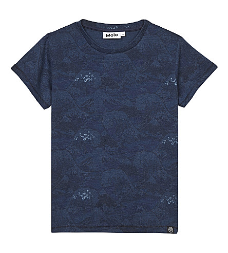 MOLO Rayburn cotton T-shirt 4-14 years (Japanese+waves