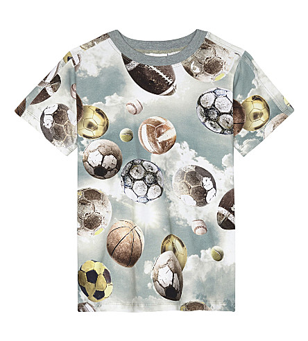 MOLO Football cotton T-shirt 4-14 years (Up+in+the+air