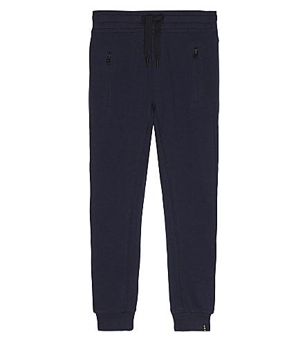 MOLO Ashton cotton tracksuit bottoms 4-14 years (Navy+blazer
