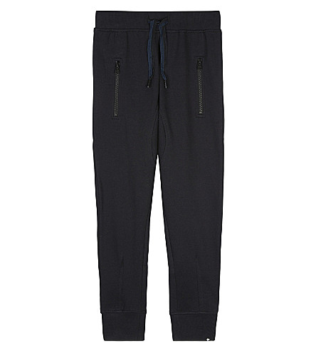 MOLO Ashton cotton tracksuit bottoms 4-14 years (Black