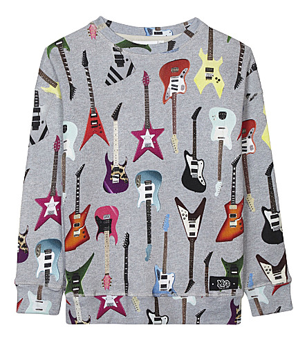 MOLO Milton guitar printed sweatshirt 4-14 years (Rock+guitar