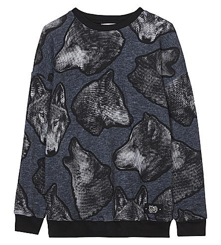 MOLO Wolf cotton sweatshirt 4-14 years (Twilight+wolf