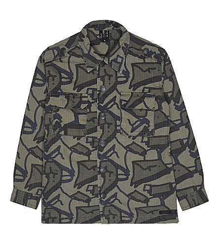 MOLO Hanve camouflage print canvas jacket 3-14 years (Tag+camo