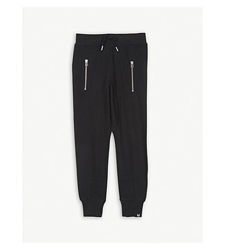 MOLO 阿斯顿棉混纺慢跑裤 4-14 岁 (黑色