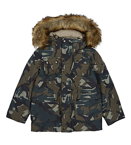 MOLO Horizon camouflage print jacket 4-14 years (Tamack+camo