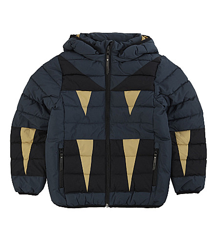 MOLO Hacket hooded quilted jacket 4-14 years (Midnight+navy