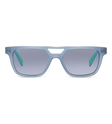 MOLO Saffi rectangle-frame sunglasses (Limoges
