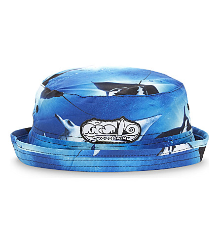 MOLO Niks stingray sun hat 6-8 years (Stingrays