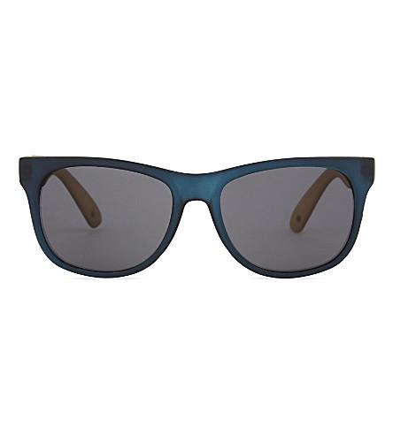 MOLO Contrast square-frame sunglasses (Blue