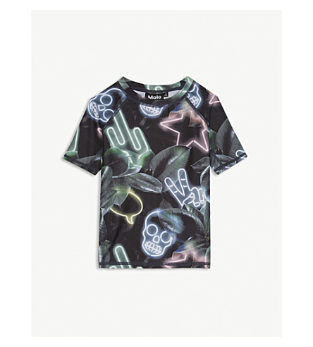 MOLO Neptune Neon T-shirt 3-12 years (Black