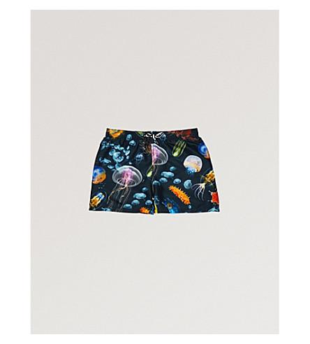 MOLO Niko shark swim shorts (Navy