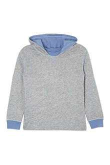 MINI A TURE Melange hooded sweatshirt 2-8 years
